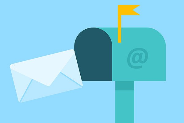 Keeping in touch with customers and clients by email