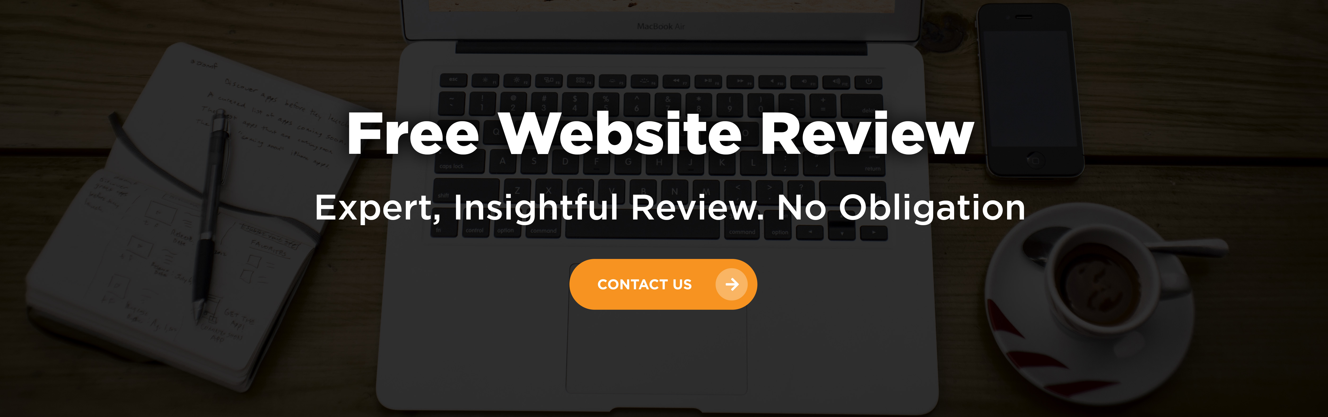 Free Website Review - Contact Us Today